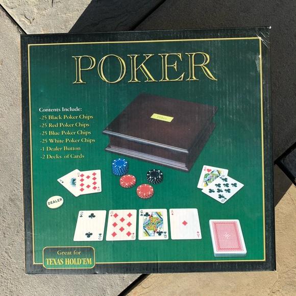 Poker Set, new in box